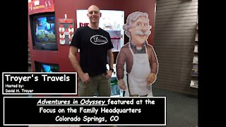 Adventures in Odyssey at Focus on the Family Headquarters with Troyer's Travels