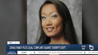 Zahau family files legal complaint ahead of 10-year death anniversary