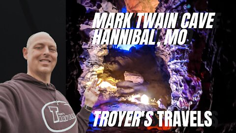 Mark Twain Cave with Troyer's Travels