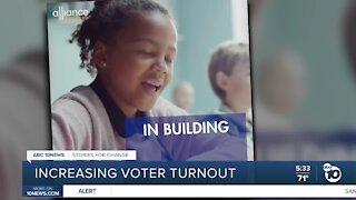 Increasing voter turnout