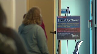 FEMA helping people sign up for vaccination appointments at Cuyahoga County Public Library branches