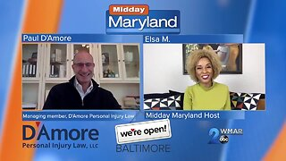 D'Amore Personal Injury Law - We're Open Baltimore