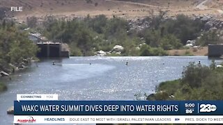Discussions about drought and wildfires taking over WAKC Water Summit