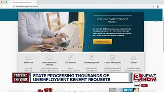 State processing thousands of unemployment benefit requests