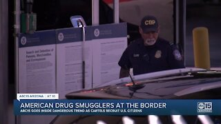 American smugglers leading drug trafficking at the border