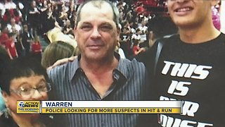 Police looking for more suspects in Warren hit-and-run