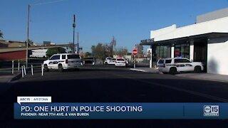 Man holding baby, firing a gun, shot by Phoenix police