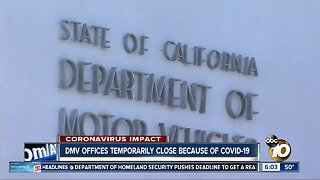DMV field offices closing due to outbreak