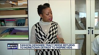 Fashion designer Tracy Reese aims to inspire Detroit Public Schools Community District students