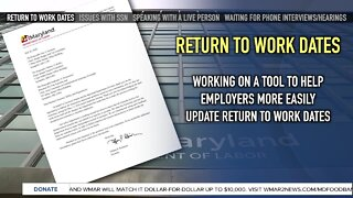 MD Department of Labor addresses unemployment issues with 12-page letter