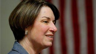Presidential candidate Amy Klobuchar Supports Legalizing Recreational Marijuana