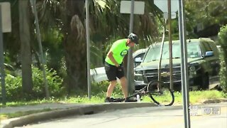 Drivers, cyclists not paying attention to stop signs on Pinellas Trail