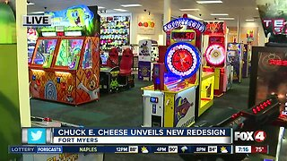 Chuck E. Cheese unveils new redesign in Fort Myers - 7am live report