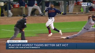 Playoff hopes? Tigers better get hot