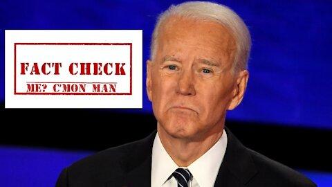 Fact Checking Joe Biden
