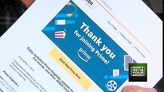 Accidental Amazon Prime membership
