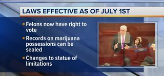 300 new laws go into effect