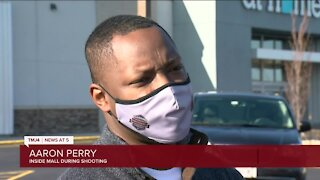 Witness recounts shooting at Mayfair Mall