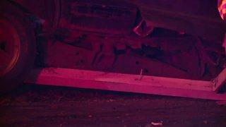 Pursuit of stolen vehicle leads to crash in Fairview Park