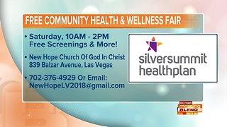 Free Community Health And Wellness Fair