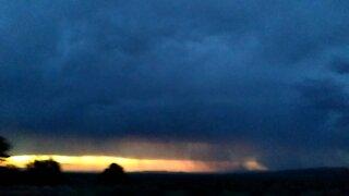 Storm outside bend oregon