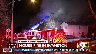 Firefighter hurt, 10 people displaced after Evanston house fire