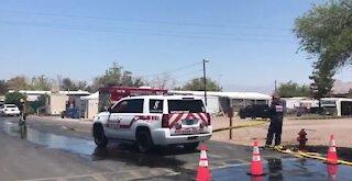 Henderson mobile home park resident recounts 4-alarm fire