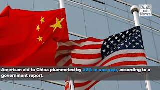 Government report says U.S. assistance to China cut in half from FY 2019 to 2020