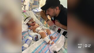 Hillsborough County mom says 9-month-old tests positive for COVID-19