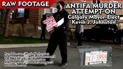 AntiFa Attempted Murder of Kevin J. Johnston - short version