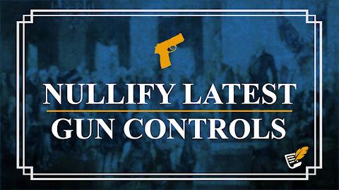 Nullify Latest Gun Controls   Constitution Corner
