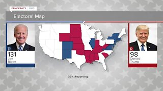 Update on the presidential race at 10 p.m.