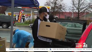 Black Wall Street Charm City help families during COVID-19