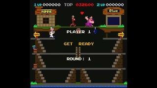 POPEYE - Videogame Braccio di Ferro Nintendo Sala Giochi