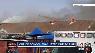 Smoke forces evacuation of Orrick, MO school