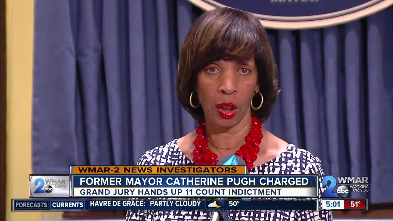 Former Mayor Catherine Pugh indicted on Wednesday