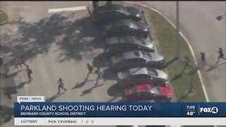 Parkland shooting hearing today