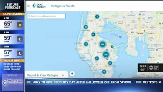 Major power outage reported in Pinellas County