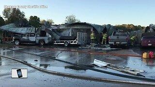 Shawano County house explosion