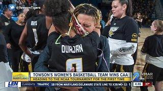 Towson women's basketball team clinches first ever NCAA Tournament berth