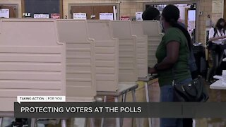 Protecting voters at the polls in Michigan