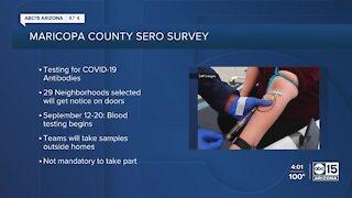 Maricopa County announces COVID-19 antibody project