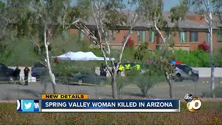 Spring Valley woman killed in Arizona