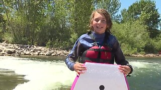 Phase two of the white water park opens on the Boise River