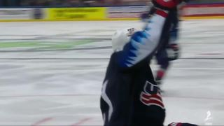 Dylan Larkin scores twice in USA's win over Canada