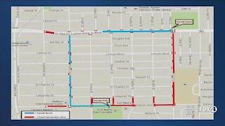 77th Annual Dunbar Easter Parade traffic route
