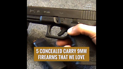 5 OF OUR FAVORITE CONCEALED CARRY 9MM