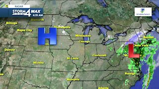 Sunshine returns Friday, chilly weather continues with highs only in lower 40s