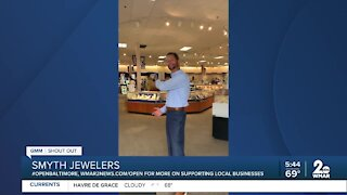 """Smyth Jewelers says """"We're Open Baltimore!"""""""