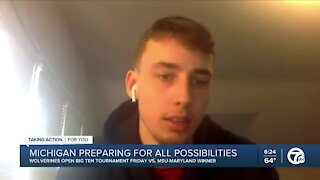 Michigan prepares for all Big Ten Tournament possibilities